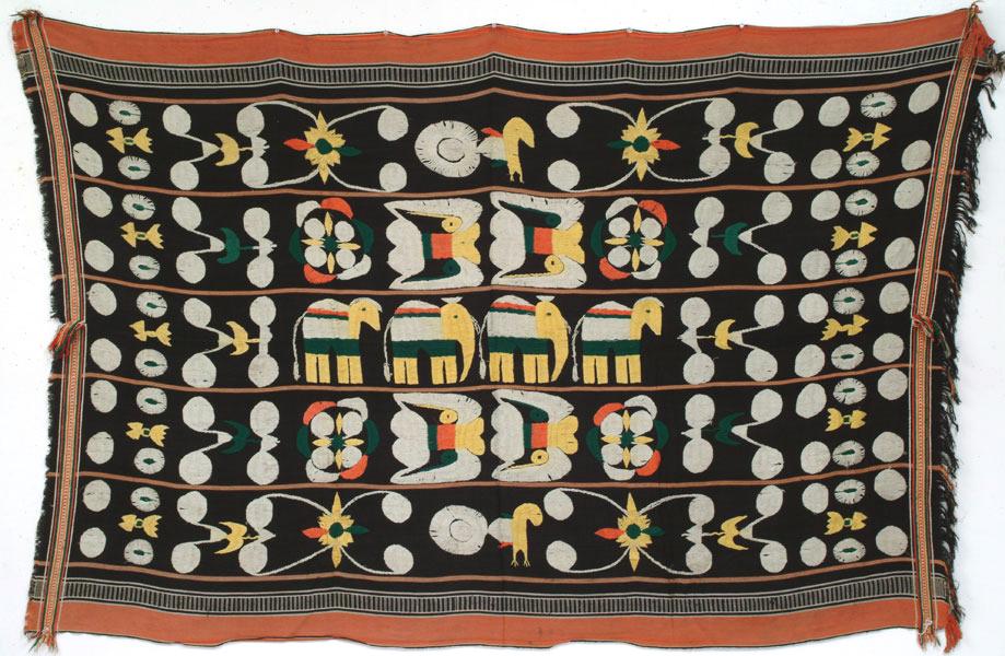 angami naga (nagaland) shawl