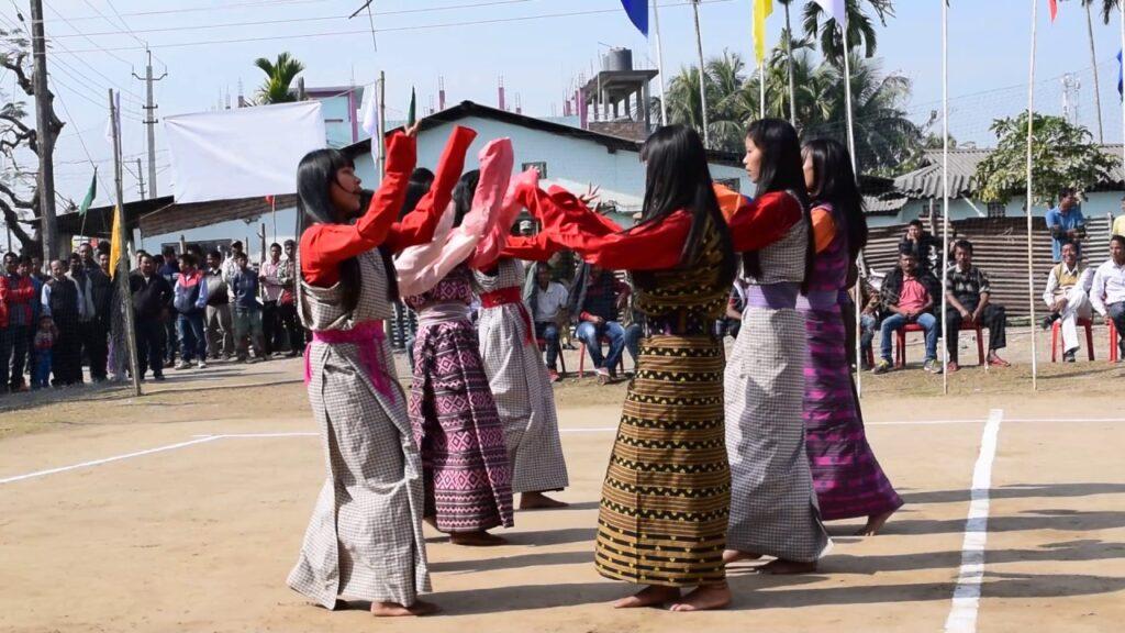 Bhutia Folk Dance